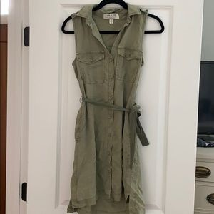 Cloth and stone sleeveless mini dress